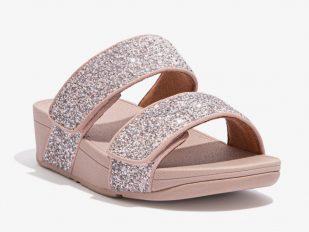 Mina Slide Glitter mix pink